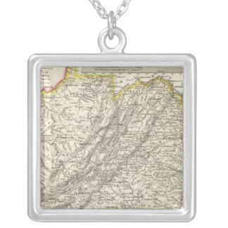 Virginia 6 silver plated necklace
