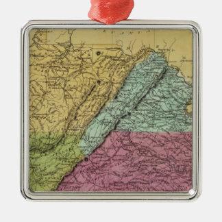 Virginia 7 christmas ornament