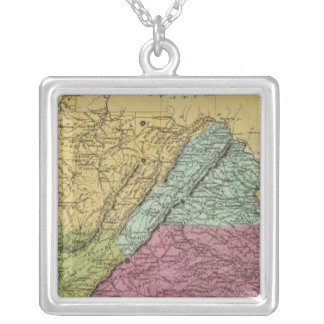 Virginia 7 silver plated necklace