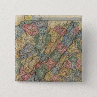 Virginia 8 15 cm square badge