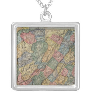 Virginia 8 silver plated necklace