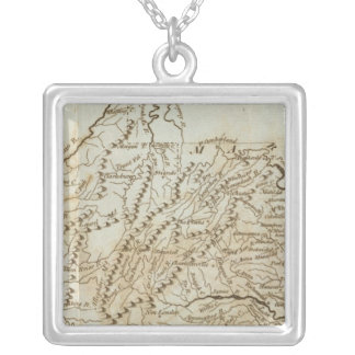 Virginia 9 silver plated necklace