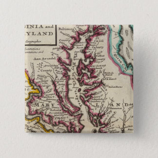 Virginia and Maryland 15 Cm Square Badge