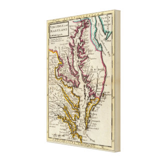 Virginia and Maryland Canvas Print