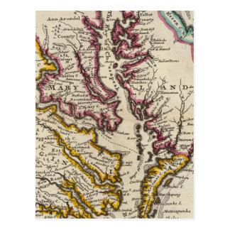 Virginia and Maryland Postcard
