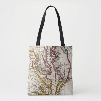 Virginia and Maryland Tote Bag
