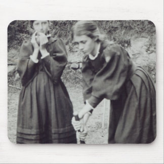 Virginia and Vanessa Stephen, in St. Ives, 1894 Mouse Mat