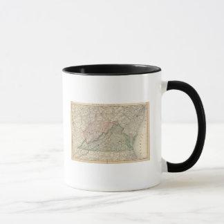 Virginia and West Virginia 2 Mug