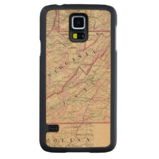Virginia and West Virginia Carved Maple Galaxy S5 Case