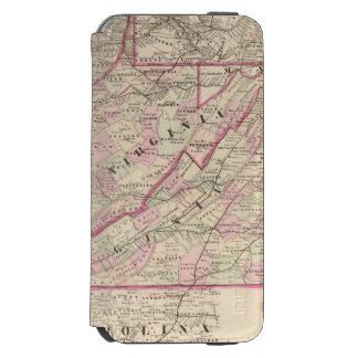 Virginia and West Virginia Incipio Watson™ iPhone 6 Wallet Case