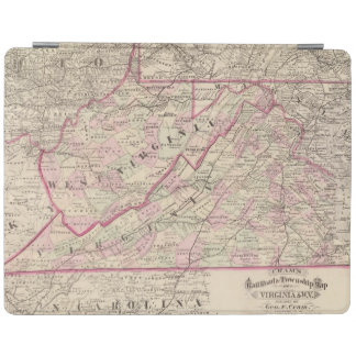 Virginia and West Virginia iPad Cover