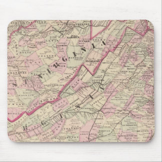 Virginia and West Virginia Mouse Mat