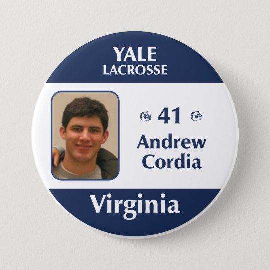 Virginia - Andrew Cordia 7.5 Cm Round Badge