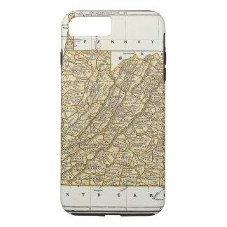 Virginia Atlas Map iPhone 8 Plus/7 Plus Case