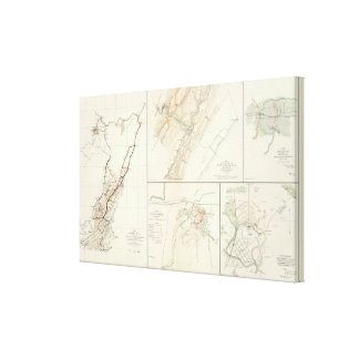 Virginia, Averell routes Canvas Print