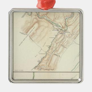 Virginia, Averell routes Christmas Ornament