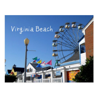 Virginia Beach Amusement Park Postcard