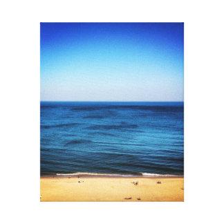 Virginia Beach Stretched Canvas Print