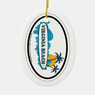 Virginia Beach. Christmas Ornament