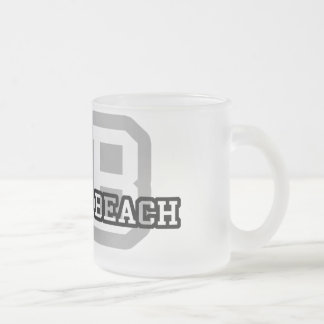 Virginia Beach Frosted Glass Coffee Mug