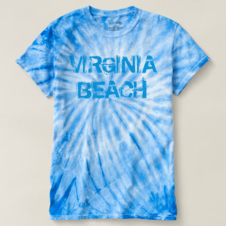 Virginia Beach Men's Tie-Dye T-Shirt