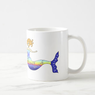 Virginia Beach Mermaid Coffee Mug