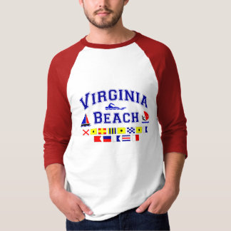Virginia Beach VA Signal Flags T-Shirt