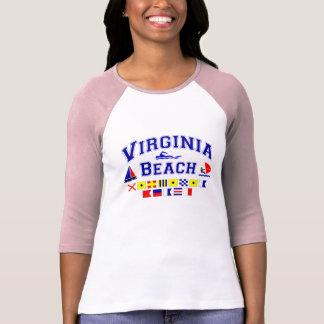 Virginia Beach VA Signal Flags Tshirts