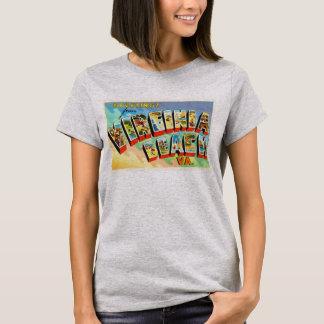 Virginia Beach Virginia VA Vintage Travel Postcard T-Shirt