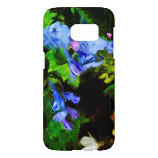 Virginia Bluebell Wildflower Impressionist