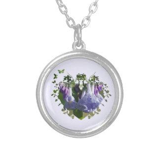 Virginia Bluebells Wildflowers Necklaces