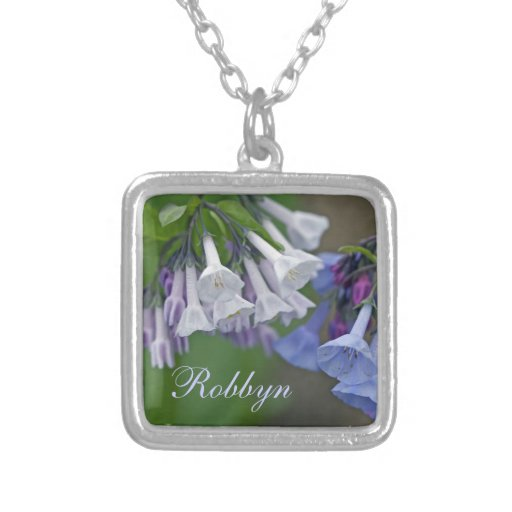 Virginia Bluebells Wildflowers Custom Jewelry