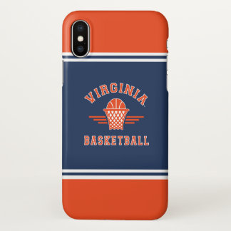 Virginia Cavaliers Logo | Basketball iPhone X Case