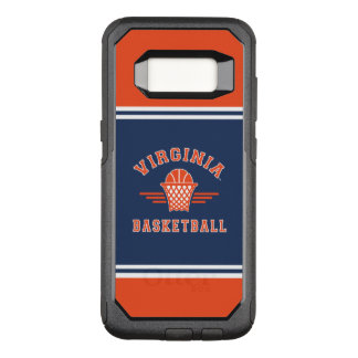 Virginia Cavaliers Logo | Basketball OtterBox Commuter Samsung Galaxy S8 Case