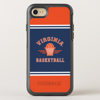Virginia Cavaliers Logo | Basketball OtterBox Symmetry iPhone 8/7 Case