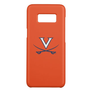 Virginia Cavaliers V Swords | Blue Case-Mate Samsung Galaxy S8 Case