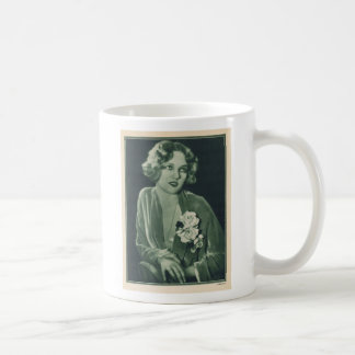Virginia Cherrill 1929 vintage portrait Basic White Mug