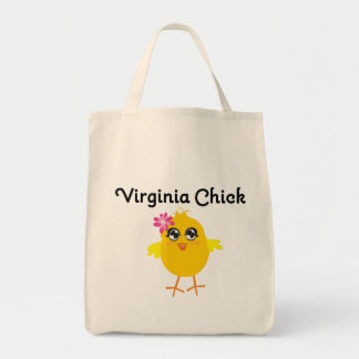 Virginia Chick Canvas Bag
