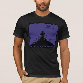 Virginia City, Montana Fear the Night graveyard T-Shirt
