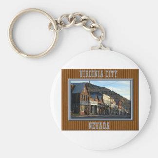 Virginia City Nevada Key Ring