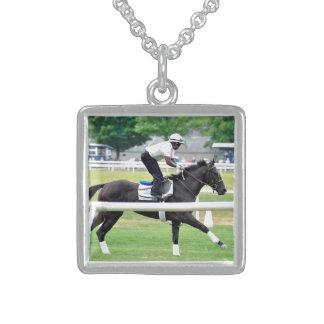 Virginia Derby Winner War Dancer Necklace