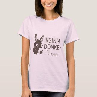 Virginia Donkey Rescue Logo Items T-Shirt