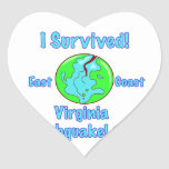 Virginia Earthquake of 2011 Stickers