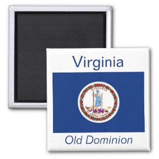 Virginia Flag Magnet