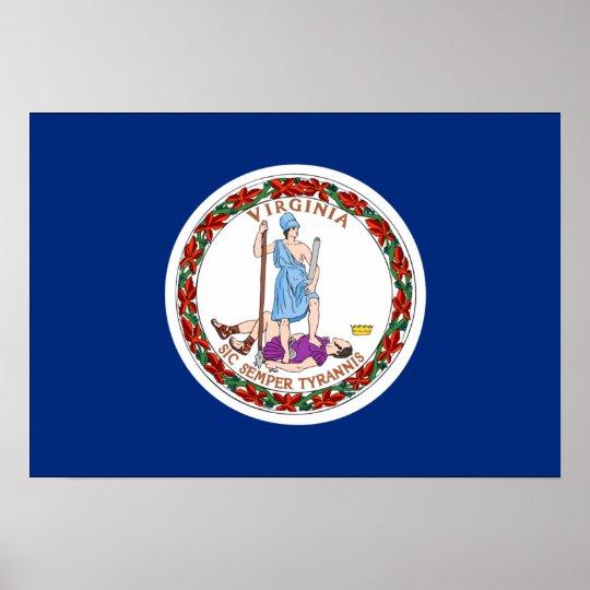 Virginia Flag Print