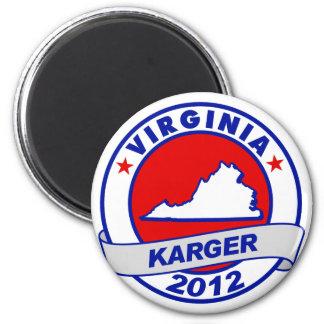 Virginia Fred Karger Fridge Magnets