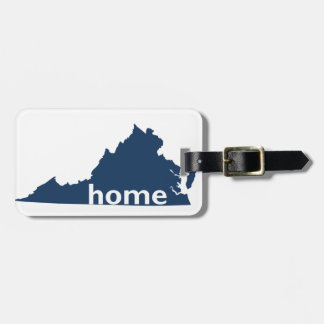 Virginia Home Luggage Tag