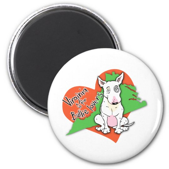 Virginia is for Bullie Lovers 6 Cm Round Magnet