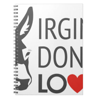 Virginia is for Donkey Lovers Notebooks
