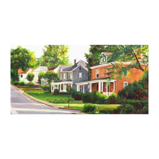 Virginia is for Lovers, Oil Painting Print 16 x 32